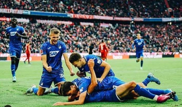 Hoffenheim - Pontos:35  / Jogos:25  / Vitórias:10 / Empates:  5/ Derrotas: 10 / Gols: 35