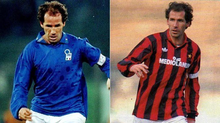 Hoje, dia 8 de maio, Franco Baresi completa 60 anos de idade. O LANCE! separou aqui 10 curiosidades e momentos marcantes da carreira do lendário zagueiro do Milan e da seleção Italiana. Confira!