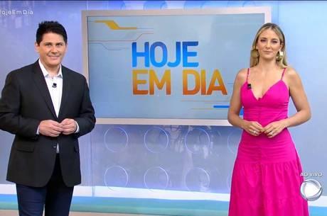 Cesar Filho e Ticiane Pinheiro comandam o 'Hoje em Dia'