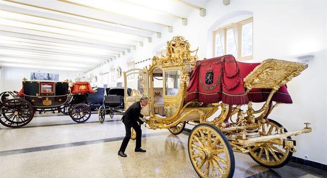 Carruagem da família real holandesa ficará exposta em um museu
