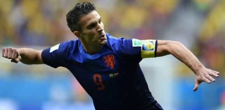 Holanda - Van Persie: 50 gols em 102 jogos