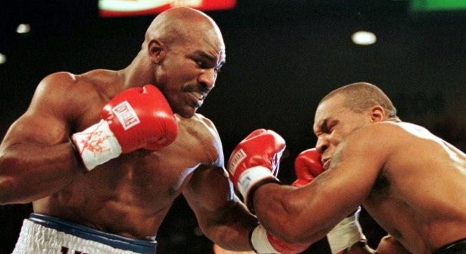 Holyfield e Tyson lutaram duas vezes na carreira
