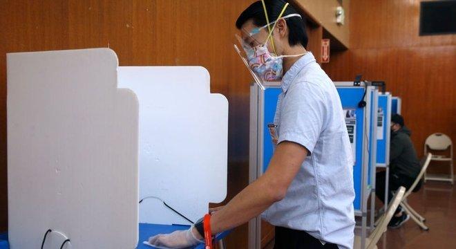 As restrições e medidas contra a pandemia do coronavírus fizeram com que estas eleições fossem  diferentes