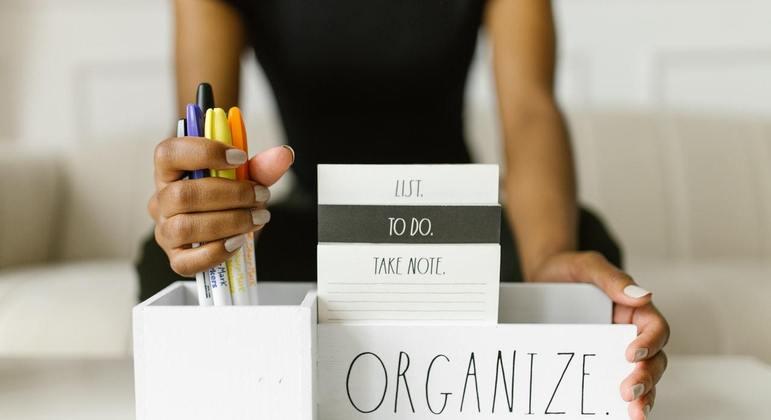 Trabalhar em casa trouxe para muitos a necessidade de uma maior organização doméstica