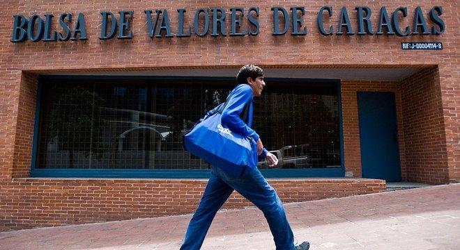 A Bolsa de Valores Caracas 'renasceu' nos últimos meses, sinal de uma certa abertura da economia do país