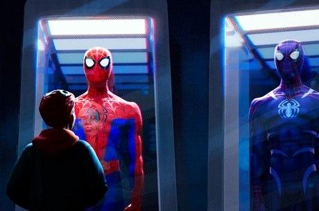 """Cena de """"Homem-Aranha: No Aranhaverso"""""""