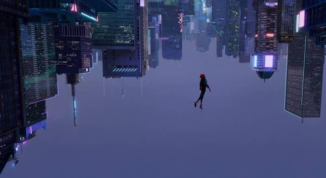 Miles Morales mergulha na cidade de Nova York
