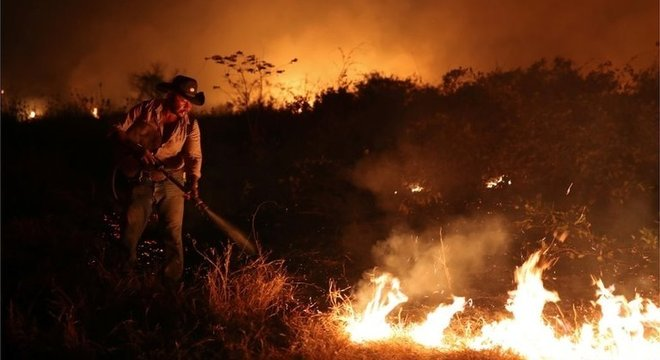 O Pantanal foi atingido por fortes incêndios até meados de outubro, e investigações apontam que eles foram causados por fazendeiros