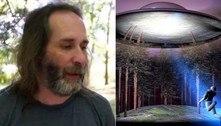 Homem alega que ex o viu levitar de volta à Terra após ser abduzido
