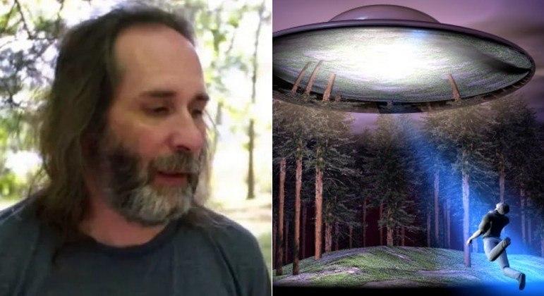 Matthew Moniz alega que uma ex-namorada o viu levitar após ter sido abduzido por ET's