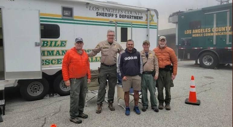 Homem foi encontrado em região restrita em floresta de Los Angeles
