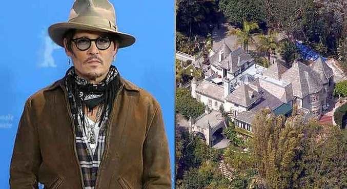 Homem invade mansão de Johnny Depp