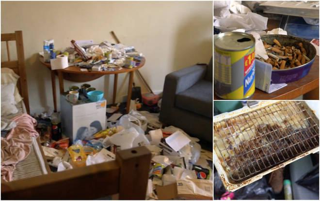 Alan, um escocês de 62 anos, parou de limpar a própria casa após a morte de sua esposa, há 8 anos atrás. Hoje, a situação da residência é tão precária que o homem precisou de ajuda de profissionais para realizar a limpeza do local*Estagiário doR7, com supervisão de Filipe Siqueira
