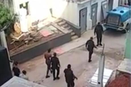 Homem foi preso em flagrante após agressão