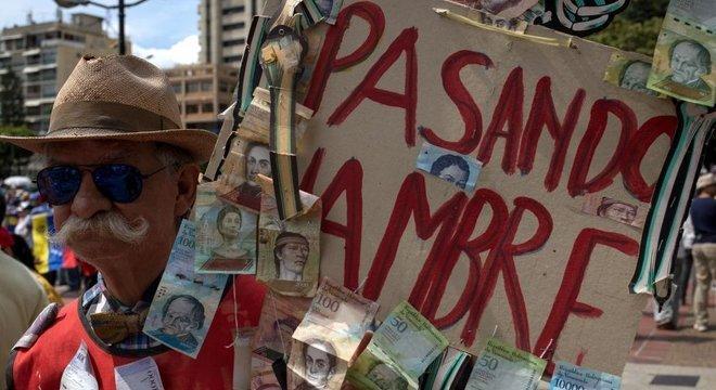 A dramática redução no poder de compra dos venezuelanos está causando fome