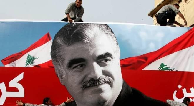Ex-primeiro-ministro do Líbano Rafik Hariri morreu em um atentado em 2005