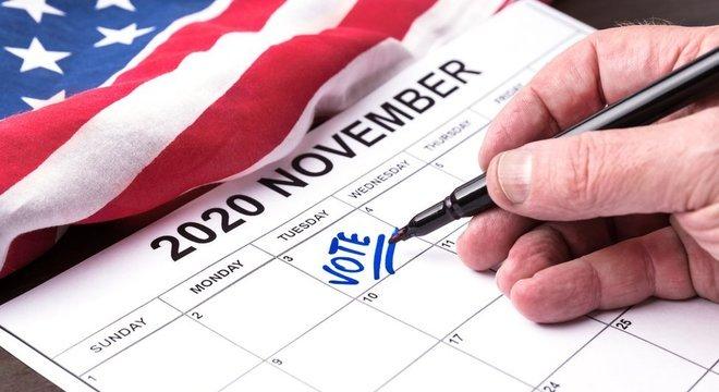O dia 3 de novembro foi o último dia para votar nas eleições dos Estados Unidos. Mas não é a única data-chave para definir o próximo presidente do país