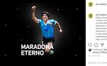 A CBF escreveu: 'O futebol está de luto. Diego Armando Maradona encantou o mundo com sua garra, irreverência e cumplicidade com a bola e os gramados. Um craque que contribuiu para disseminar a paixão dos sul-americanos pelo futebol. A CBF e o Futebol Brasileiro se unem às manifestações de pesar e de tristeza pela sua morte. Sua genialidade seguirá viva, inspirando novas gerações em todos os cantos do mundo onde se joga futebol.'