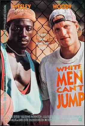 Homens Brancos não Sabem Enterrar (1992) - É um filme diferente da maioria da lista. É o basquete fora das quadras convencionais. Wesley Snipes e Woody Harrelson se juntam para formar uma dupla praticamente imbatível, ganham dinheiro em jogos apostados, enquanto tentam se livrar de um gangster. É imperdível