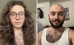 Se você busca inspiração para cortar o cabelo ou deixá-lo crescer, acabou de encontrar. Diversos homens compartilharam fotos no Reddit das suas madeixas longas - e de como ficou seu visual após o corte. A mudança é impressionante! Acompanhe