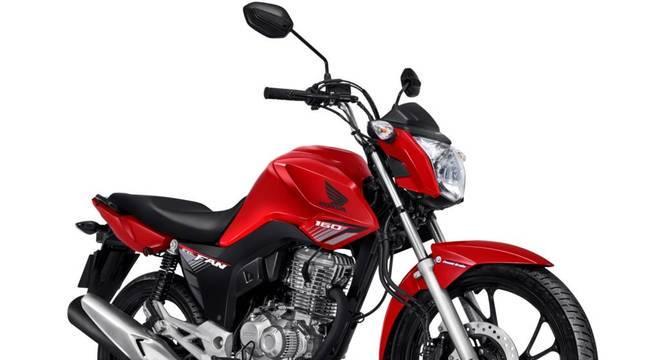 Honda CG é o veículo mais vendido do País / Divulgação