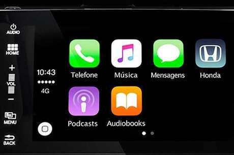 Integração do smartphone com a central multimídia