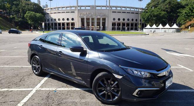 Com esportividade como marca, Honda Civic EXL custa a partir de R$ 114,1 mil