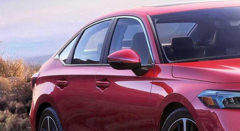Marca não divulgou fotos da traseira do veículo