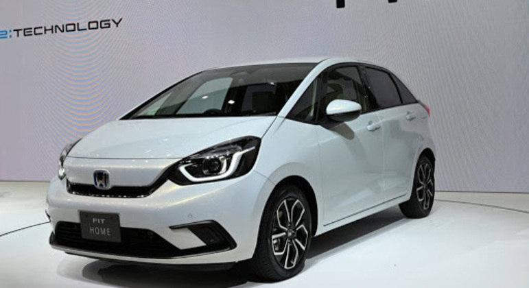 A Honda poderá escolher 2022 para o lançamento do novo Fit.
