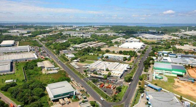 Fábrica da Honda em Manaus que está recebendo investimentos da ordem de R$ 500 milhões