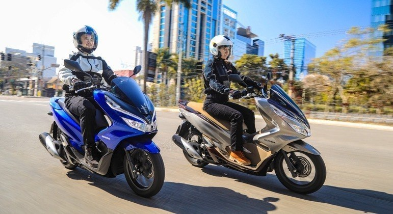Honda vendeu 2.661 unidades da PCX