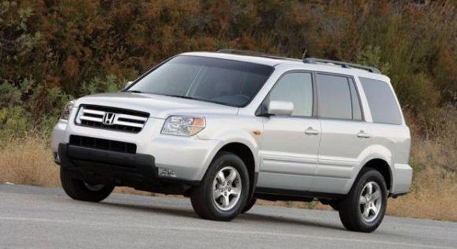 Honda Pilot também faz parte da lista que tem também o CR-V
