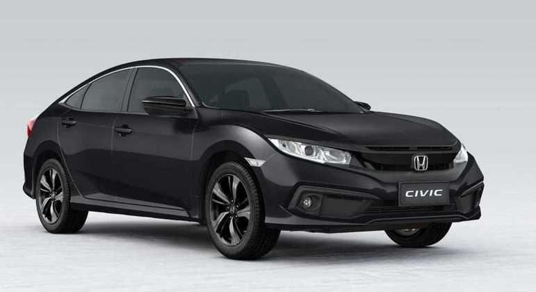 Honda Civic Sport 2.0 CVT 2021 será vendido por R$ 123.900