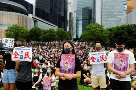 Estudantes anunciaram greve de duas semanas