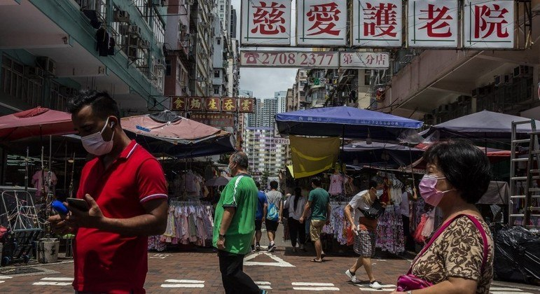 Hong Kong perdeu 90 mil residentes em 2020