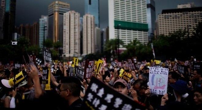 Gatilho dos protestos foi proposta de extradição para a China continental