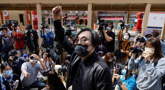 Ativistas pró-democracia de Hong Kong são acusados de subversão