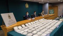 Hong Kong apreende carga recorde de cocaína procedente do Brasil