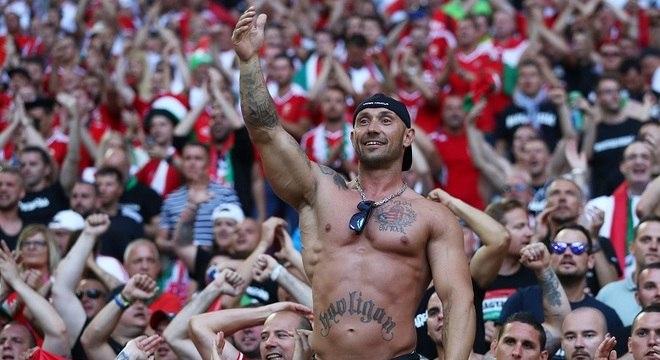 Hooligans marcaram presença na Eurocopa de 2016, disputada na França