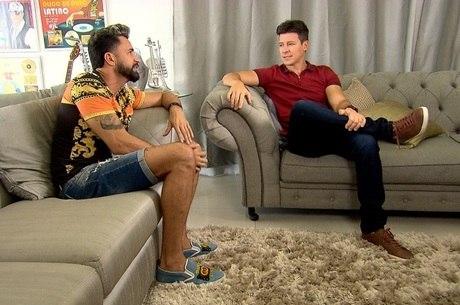 Faro visitou a casa de Latino no Rio
