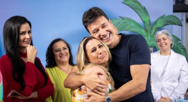 Andréa Sorvetão vai cair em pegadinha de Rodrigo Faro