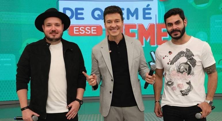 "Israel, Rodrigo e Rodolffo no ""Hora do Faro"" deste domingo"