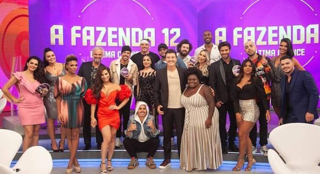 Grande elenco! Todos os peões de A Fazenda 12 vão invadir o Hora do Faro deste domingo (20)