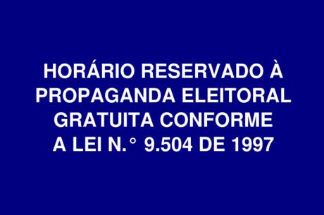 Propaganda eleitoral gratuita terminou nesta 5ª-feira