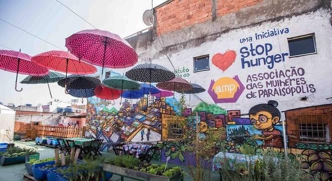 Projeto Horta na Laje já beneficiou mais de mil mulheres de Paraisópolis