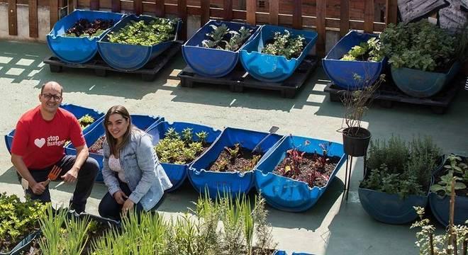 Davi Barreto e Elizandra Cerqueira ganharam prêmio pelo impacto do projeto