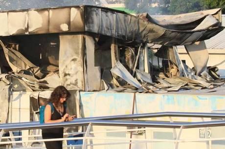 Incêndio atingiu CER anexa ao Hospital Lourenço Jorge