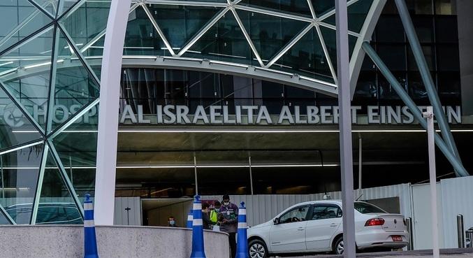 Secretário é internado em hospital Albert Einstein, em São Paulo