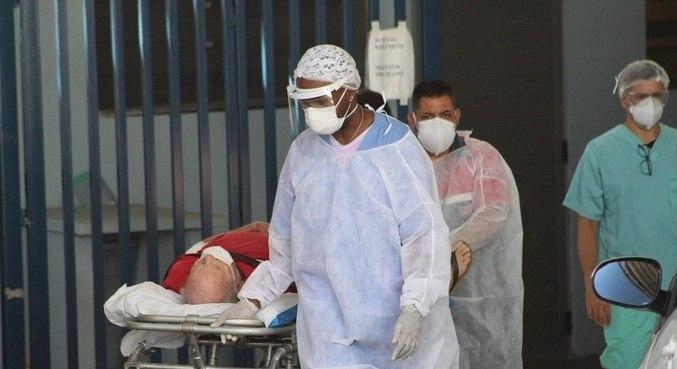 Segundo a pesquisa, 79% dos hospitais estão com ocupação de suas UTIs acima de 80%