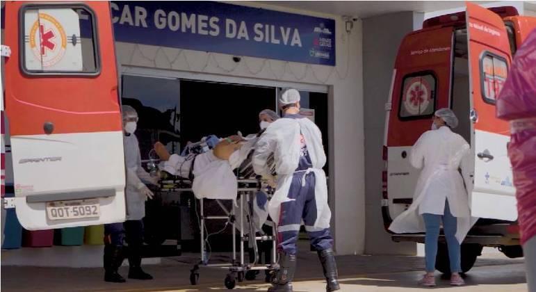 Taxa de ocupação de leitos de UTI em Minas Gerais permanece alta
